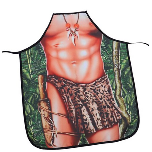 Me Tarzan Apron