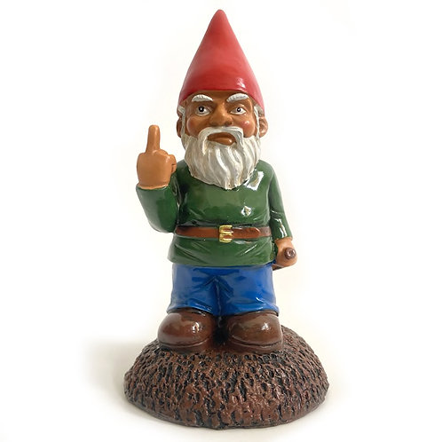 Frustrated Fred Garden Gnome