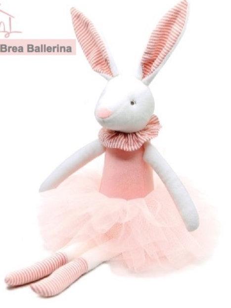 Handmade Brea Ballerina Bunny Stuffie