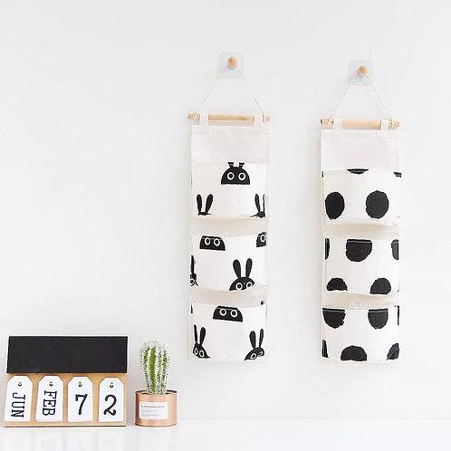 Danish 3 Pocket Canvas Organizer Bag