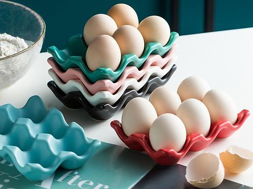 Ceramic Egg Display Tray