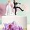 Thumbnail: Get Away Groom Wedding Cake Topper