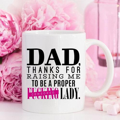 Thank You Fathers Day Mug
