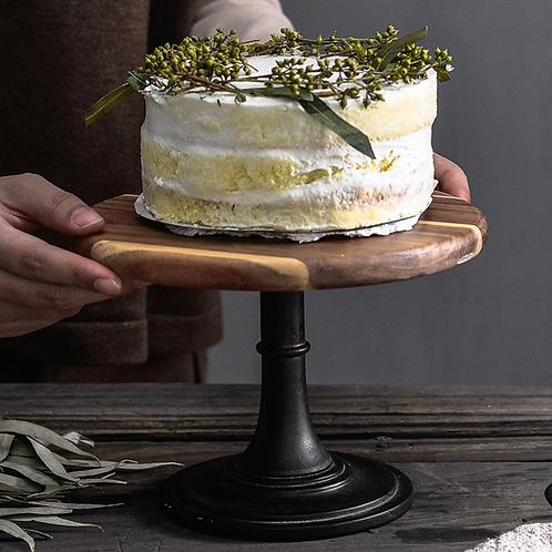 Scandi Wooden Cake Stand