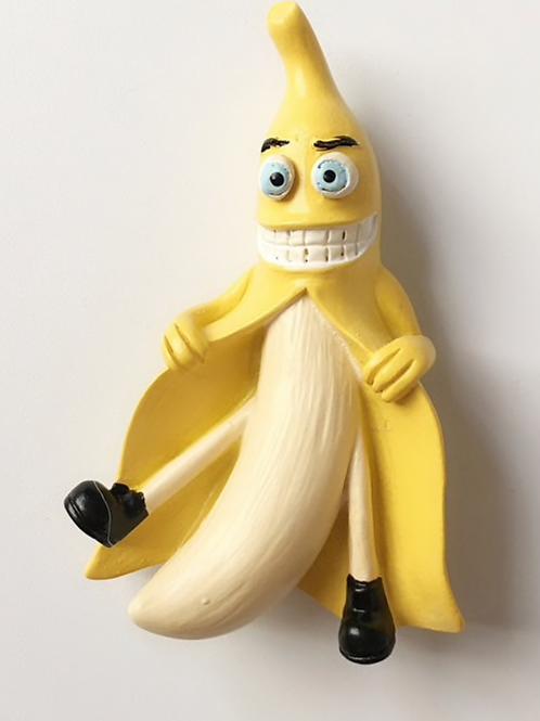 Naughty Banana Refrigerator Magnet