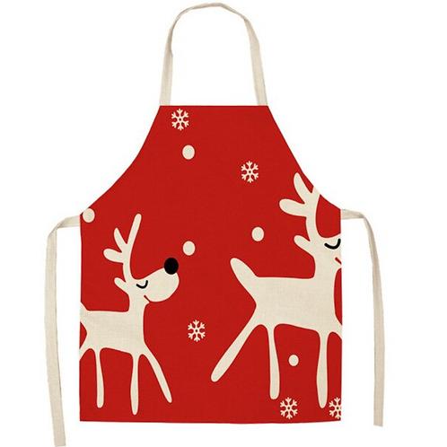 Happy Reindeer  Apron
