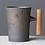 Thumbnail: North Sea Ceramic Mug With Wooden Handle