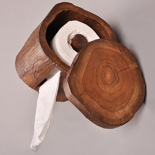 Nordic Wooden TP Holder
