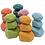 Thumbnail: Norse Colorful Wooden Balancing Stones