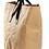 Thumbnail: Washable Kraft Paper Bag With Vegan Leather Handles