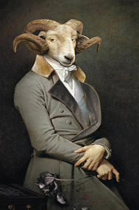 Konrad Ram Canvas Poster