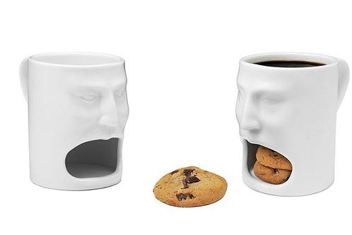 Classic Duo Mug - Coffee & Cookies