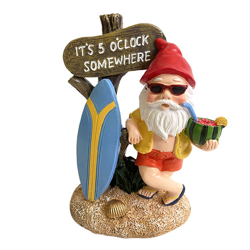 Jimmy Gnome Knows  It's 5 O'Clock Somewhere