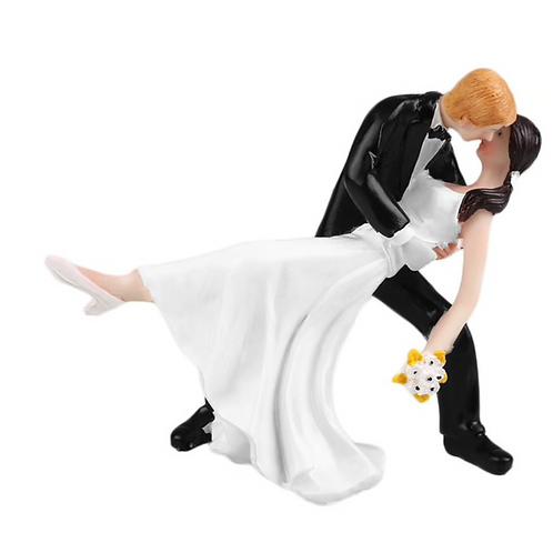 Bride Swept Off Her Feet Wedding Cake Topper