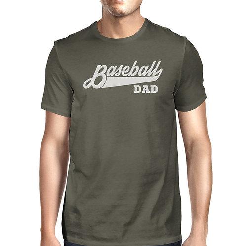 Baseball Dad - Gray Cotton Shirt