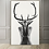 Thumbnail: Buck Naked Woman Poster on Canvas