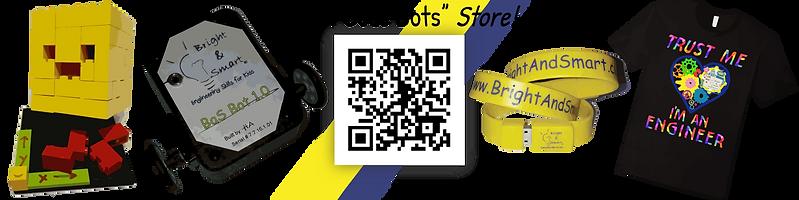 Bright & Smart: engineering Skills for Kids - I Code Bots Store!
