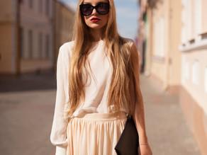 Sheer elegance: a fashion spotlight
