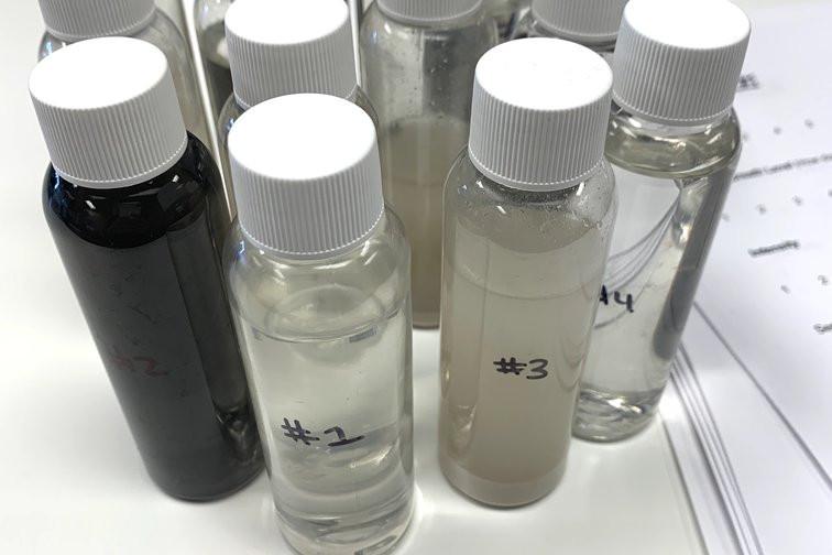 Lokena natural mouthwash lab samples