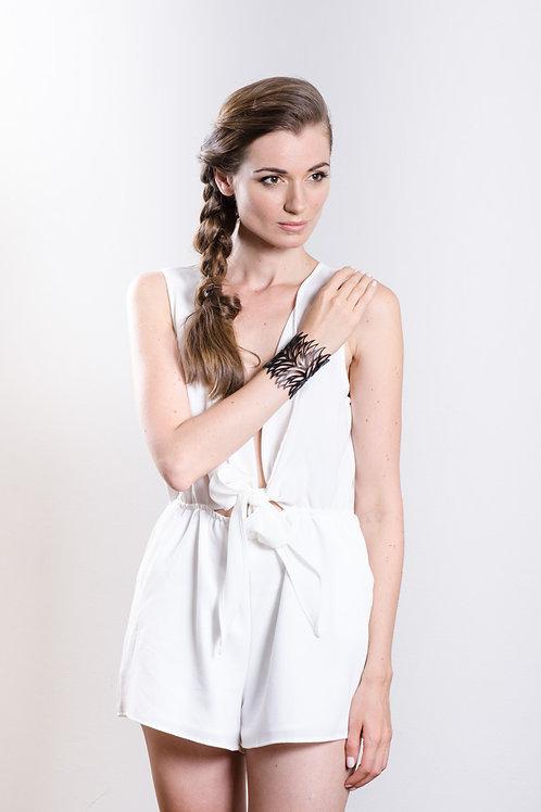 Bromelia Bracelet Black