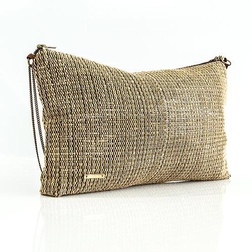 Sustainable Handloom Mini Bag Golden