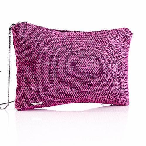 Sustainable Handloom Mini Bag Pink