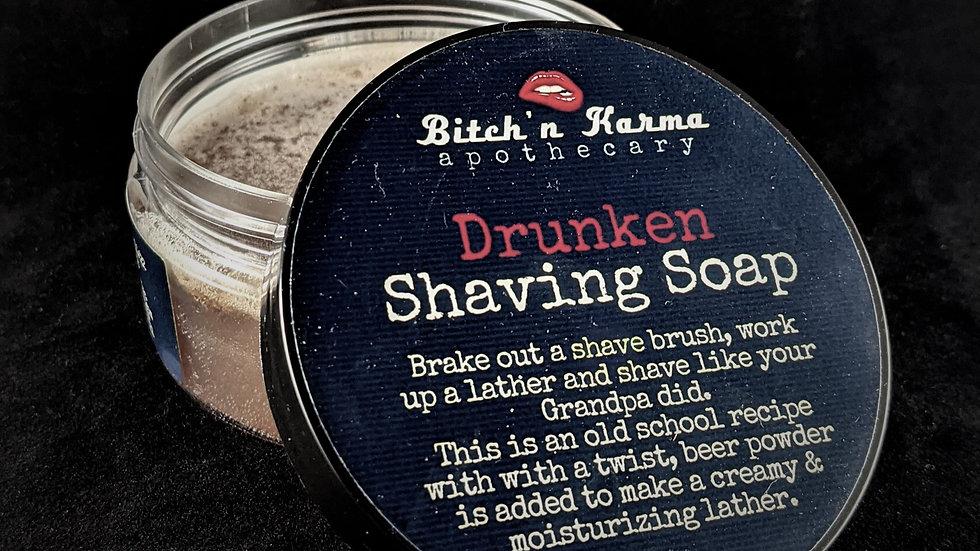 Drunken Shaving Soap