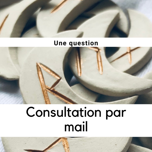 Consultation par mail : 1 question