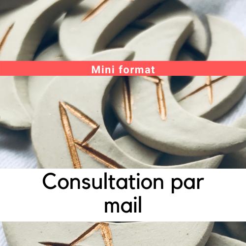 Consultation par mail : Mini format