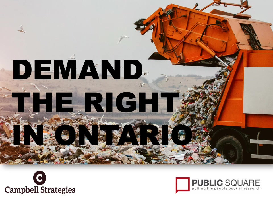 Demand the Right Survey Findings