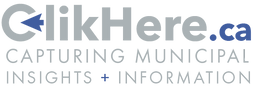 Clikhere Logo - White - Light Blue Accen