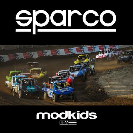 SPARCO USA PARTNERS WITH MOD KIDS USA