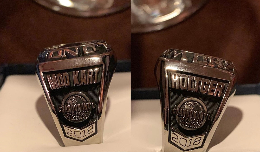 John Holtger (Mid-West Mod Kart World Championship Ring)