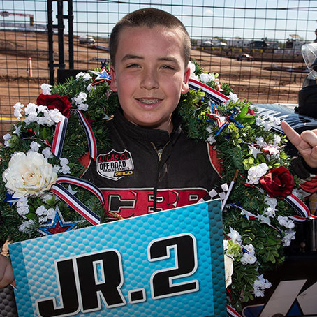 CONNOR BarrY SETS NEW GOALS AFTER JR2 Championship