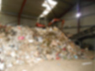 waste for the trommel skip bag
