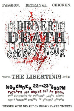 The Dinner w/ Death Comedy Hour