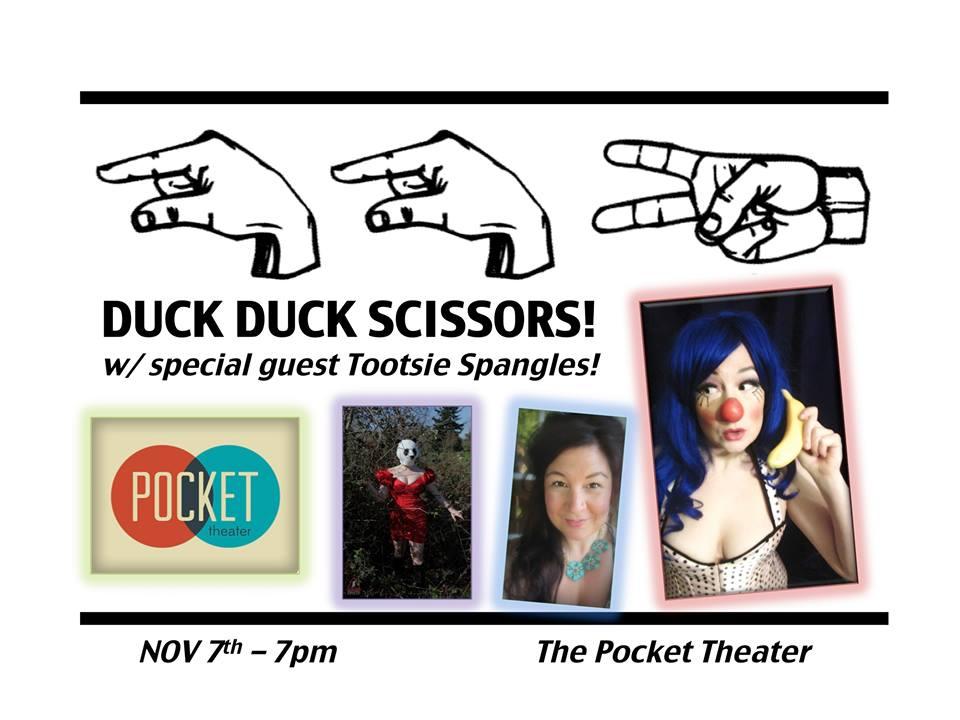 Duck Duck Scissors!
