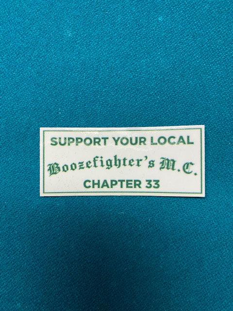 Support Bar Sticker