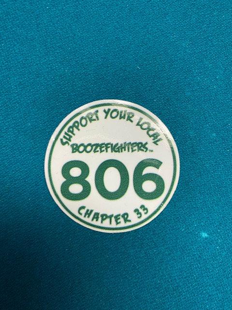 Round 806 Support Sticker