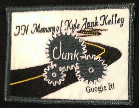 "Kyle ""Junk"" Kelley Memorial Patch"