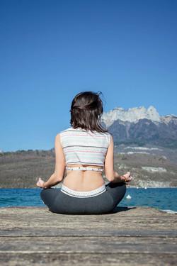 yoga lac d'Annecy Haute-savoie 74