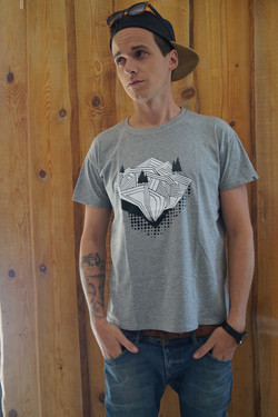 Tee-shirt roc savoyard