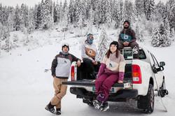 groupe snowboardeur