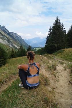 tenue sport femme montagne HS74