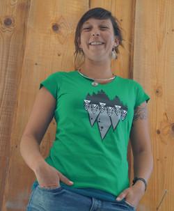 T-shirt sapin femme
