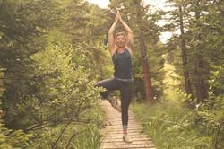 Yoga forêt Haute-Savoie