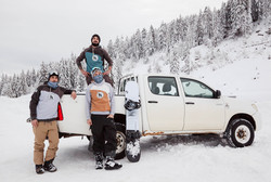 snowboardeur Haute-Savoie