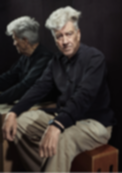 David Lynch mirrored