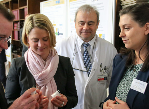 Visit of the Minister of Education