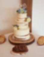 3 tier Semi Naked swancar cookies